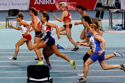 Final 60 metros lisos W60. World master athletics Championships. Torun 2019. Foto: Alfred Hermes