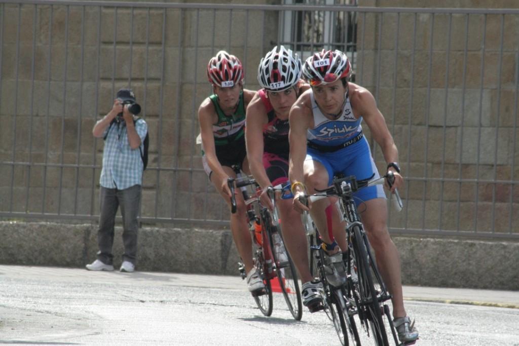 La triatleta Ana Burgos (Foto: Alberto García Bataller).