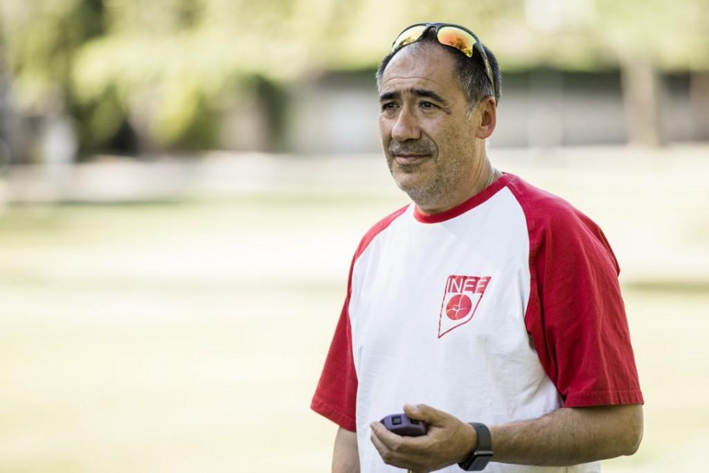El entrenador Alberto García Bataller (Foto: Bárbara Sánchez).