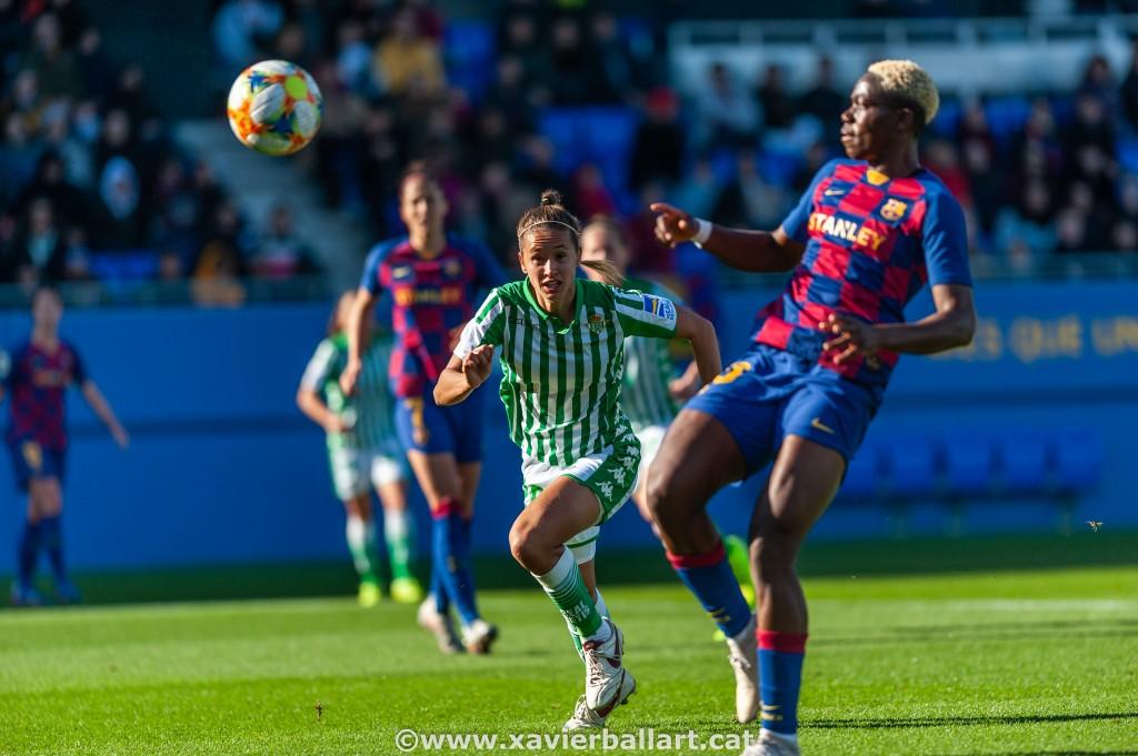 Partido Barça- Betis de la Liga Iberdrola 2019-2020