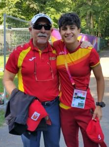El Dr. Rodríguez Huerta asesora a María Pérez, campeona de Europa de 20 Km marcha en 2018